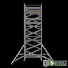 GDA500-DW Alu Baugerüst 7m (9m Arbeitshöhe)