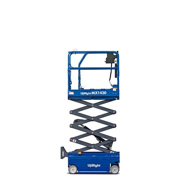 MX1430ED Mini-Scherenarbeitsbühne Arbeitshöhe 6,4m
