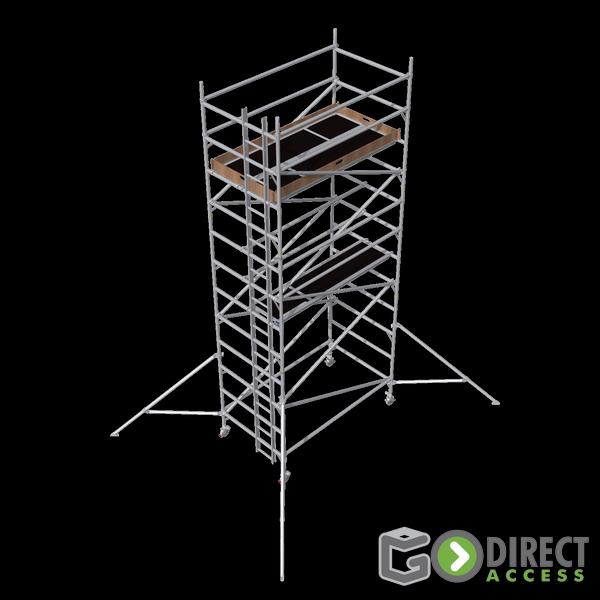 GDA500-DW Alu Baugerüst 5m (7m Arbeitshöhe)