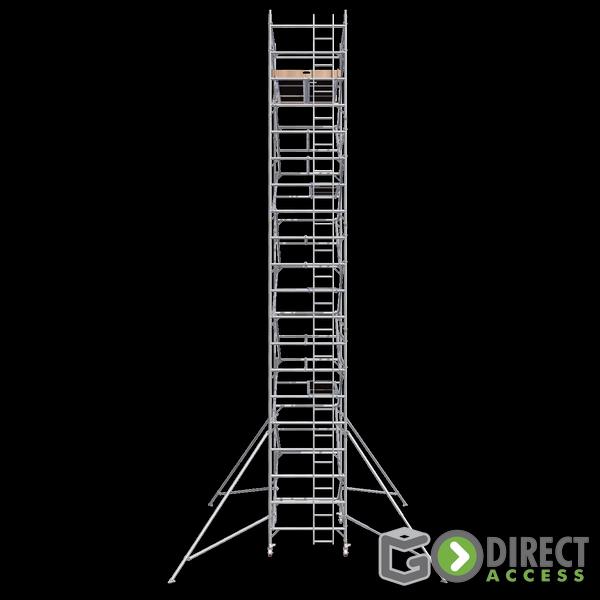 GDA500-DW Alu Baugerüst 9m (11m Arbeitshöhe)