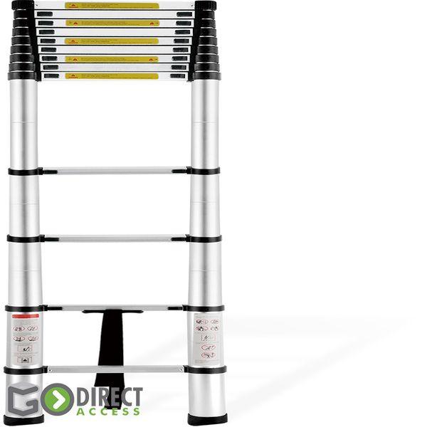 Aluminium-Teleskopleiter mit Tragebeutel